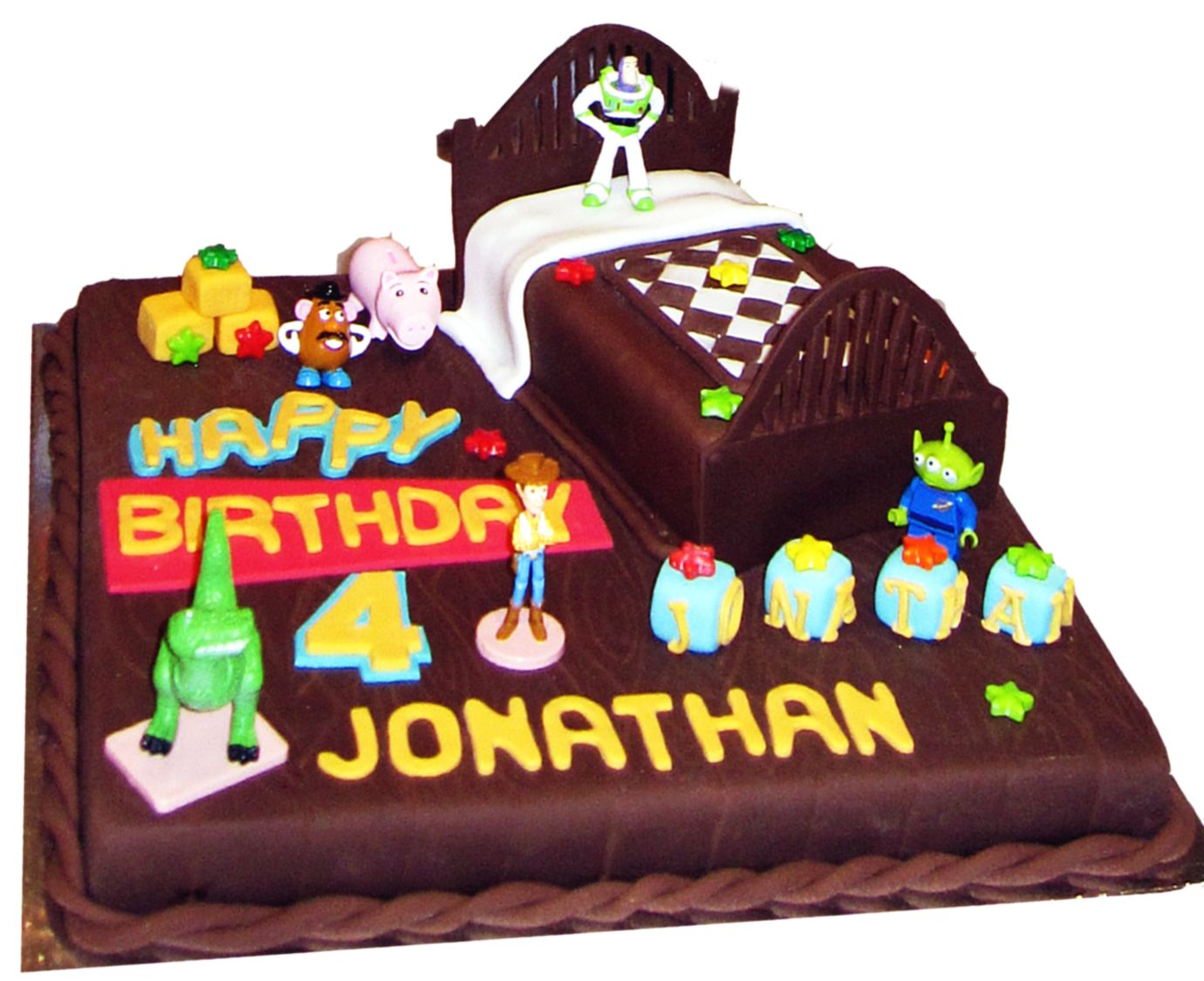 Cooking In Melbourne Toy Story Cake For Jonathan