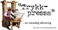 Trykkpressa hver 1. i mnd.