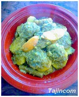 طاجين باللحم والقوق وبطاطا Tajine++artichauds+et+pommes+de+terre