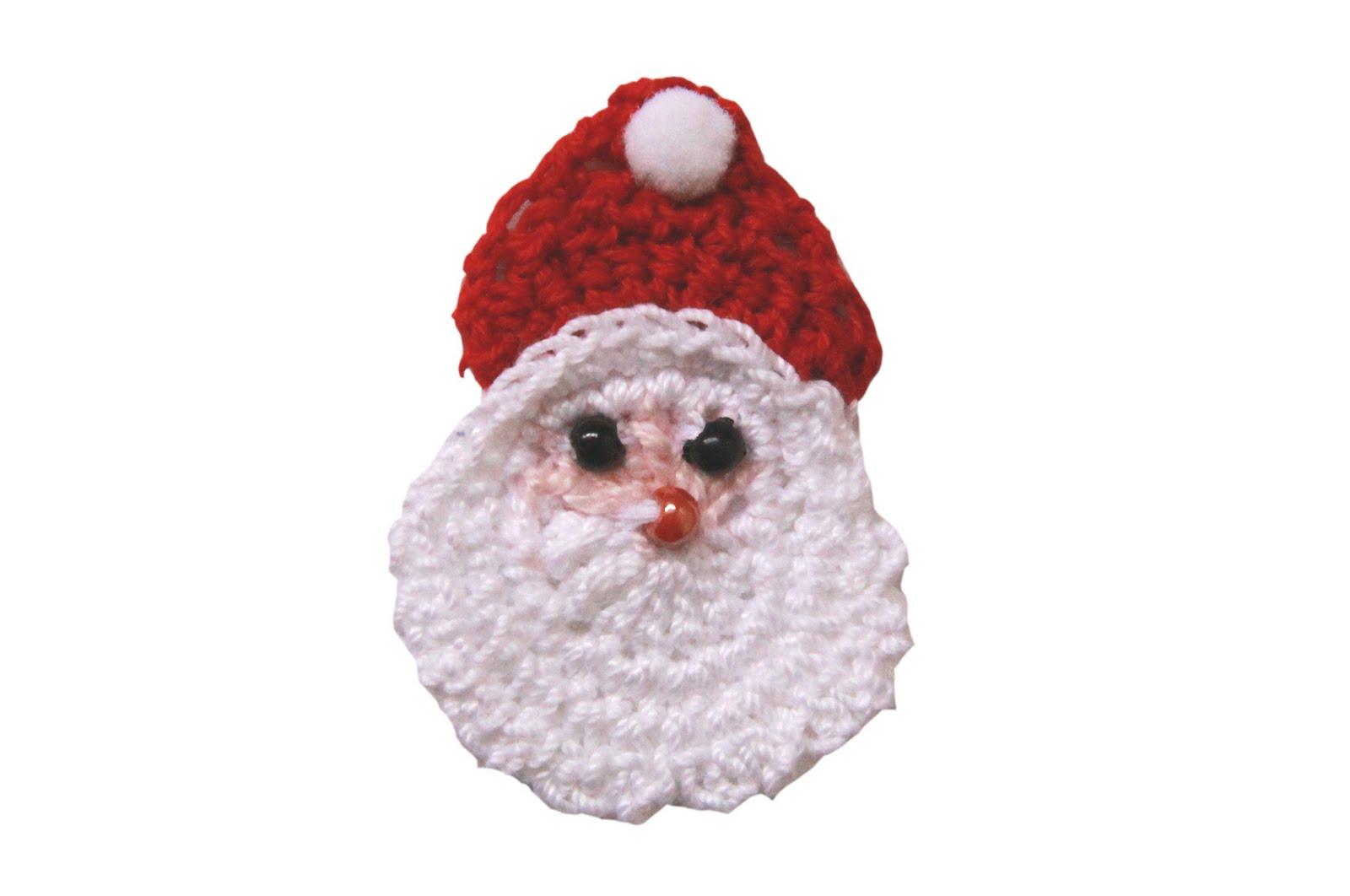 Crochet santa face wallskid crochet santa face pattern bankloansurffo Image collections