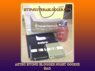 GOODIE+BAG  = AstRo BYonD BloGGEr NiGHt =