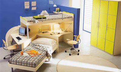 Dormitorios para ninos como compartir el espacio diseno for Decoracion de interiores dormitorios fotos