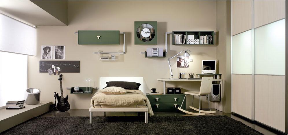#Registro de Habitacion - Página 3 Dormitorios-juveniles-habitaciones-jovenes-varones-bedroom-colores-verde