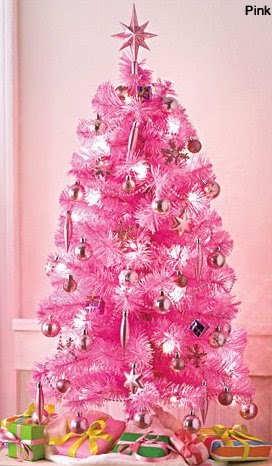 Decoraci n e ideas para mi hogar lindos rboles de - Arboles de navidad rosa ...