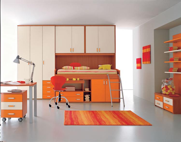 Dormitorios funcionales para ninos diseno de interiores - Dormitorios infantiles diseno ...