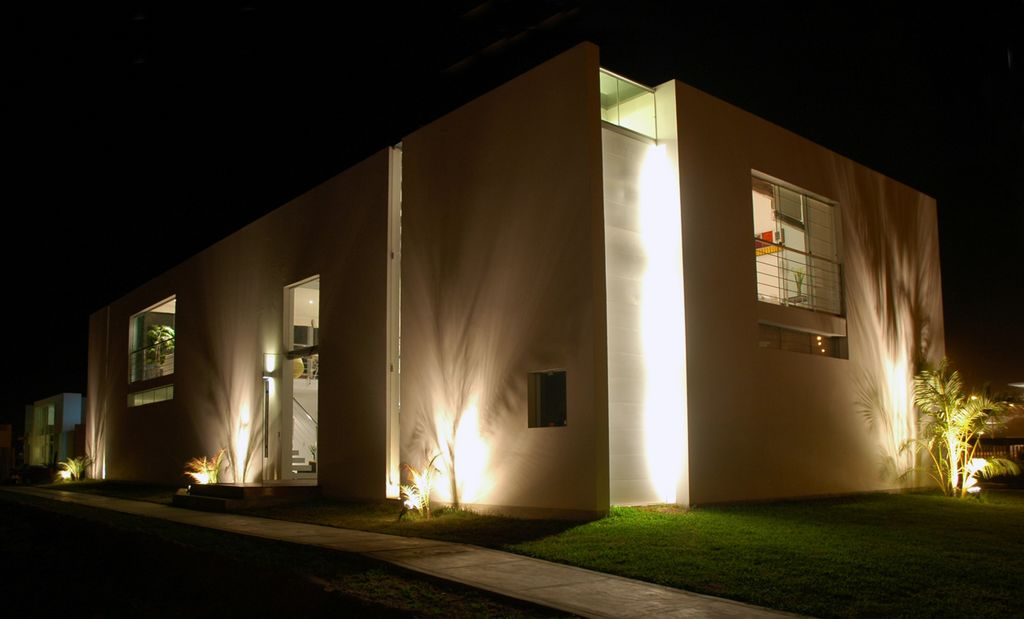 Diseno de casa playa bora bora peru por bucelli - Casa de iluminacion ...