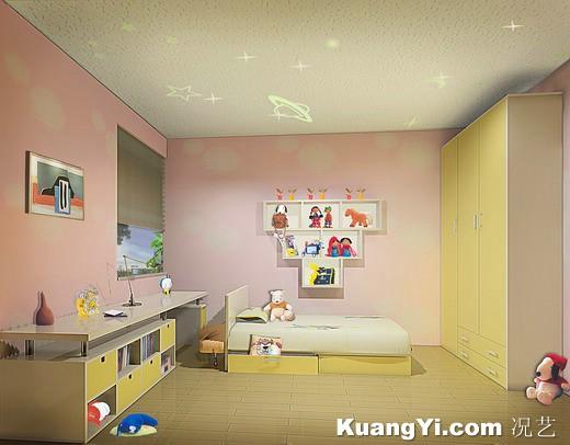 Decoracion de dormitorios infantiles diseno de interiores for Diseno de habitaciones infantiles
