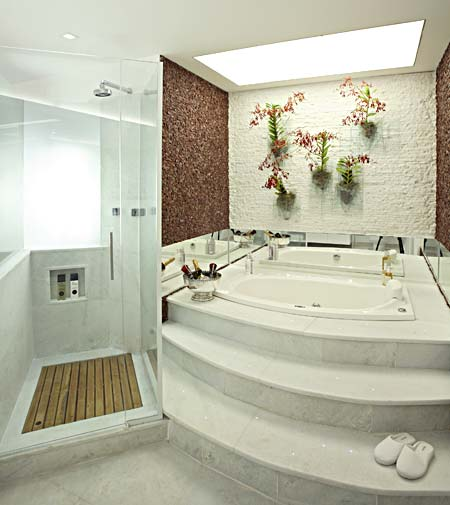 Ideas Para Decorar Un Baño Con Jacuzzi:Etiquetas: Baños , decoracion baños
