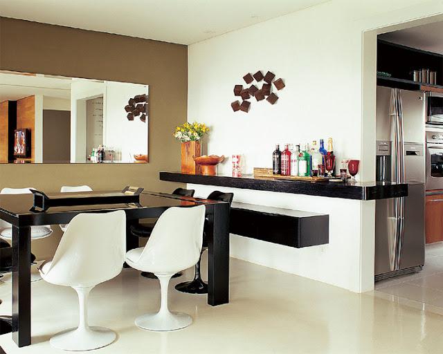 Comedor con espejos decoracion de comedores en paredes - Decoracion de comedor ...