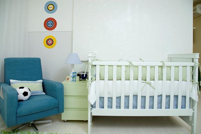 Decoracion de dormitorio para bebe varon diseno de for Cuarto de bebe varon