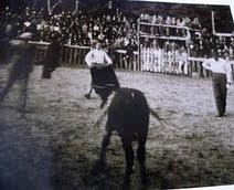 Toros en Arriondas(Asturias)1929