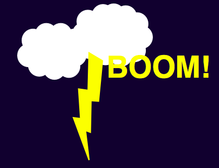 A As In Anna Physics Friday Thunder And Lightning