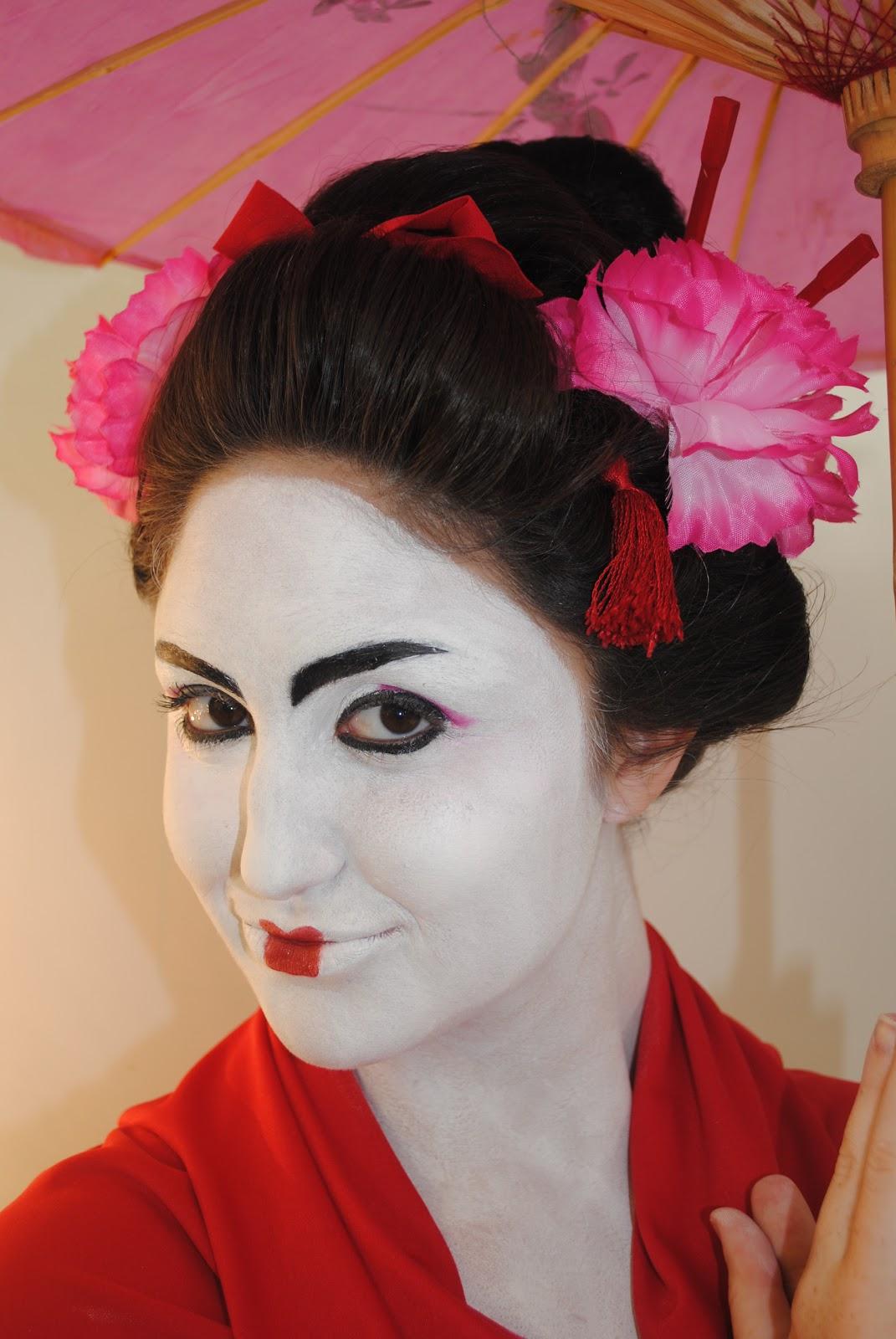 Make Up Hair Sfx Styling Props Traditional Geisha