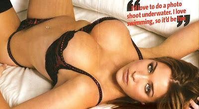 Gemma Atkinson lingerie