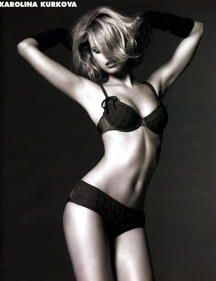 The utterly gorgeous Karolina Kurkova
