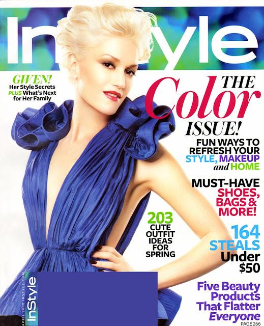Gwen Stefani InStyle Magazine