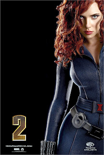 Scarlett Johansson Iron Man 2 Posters are really sexy