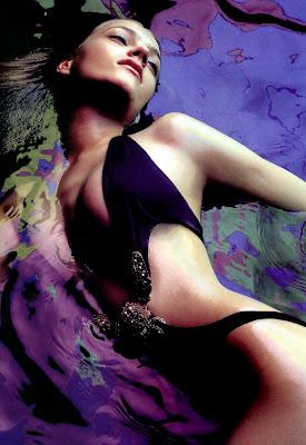 Anna Jagodzinska in a bikini