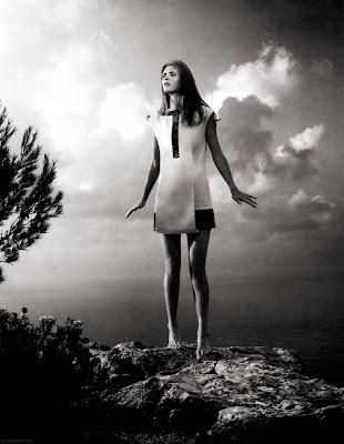 Malgosia Bela in Black and White