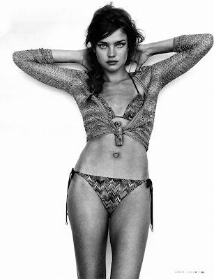 Natalia Vodianova Bikini Pics