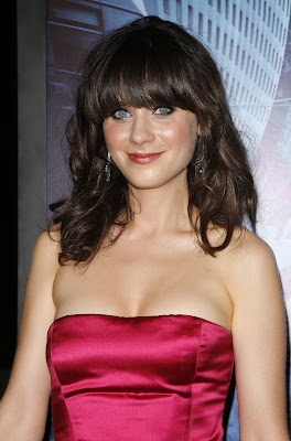The Happening star Zooey Deschanel