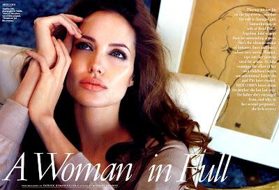 Angelina Jolie is beautiful in Vanity Fair