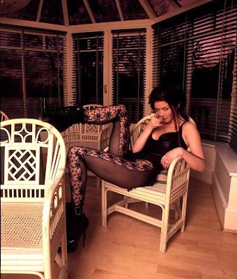 Catherine Zeta Jones in lace stockings