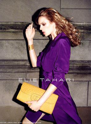 Supermodel Elise Crombez