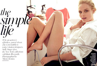 Kate Bosworth in Vogue