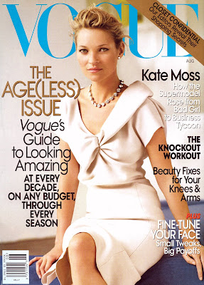 Kate Moss in Vogue