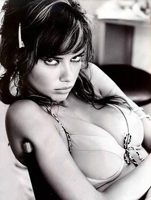 Adriana Lima in a bra