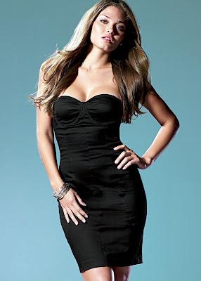 Model Karen Carreno and her luscious lips