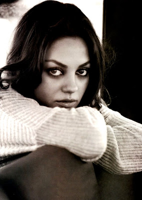 Mila Kunis is adorable