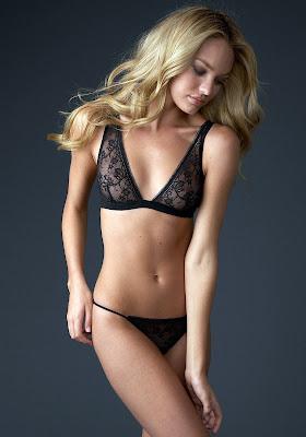 Candice Swanepoel looks fantastic in lingerie