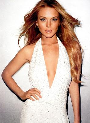 Lindsay Lohan is cute in Bazaar