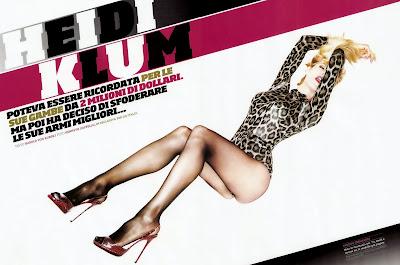 Heidi Klum in GQ