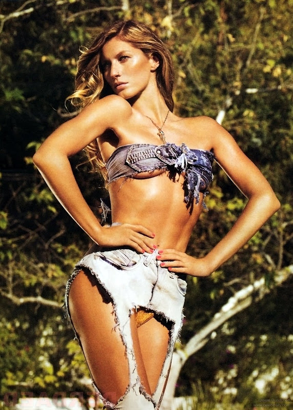 Gisele Bundchen can really rock those shorts