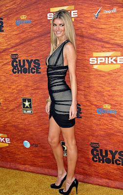 Marisa Miller looks good in black