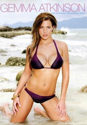 Gemma Atkinson in a bikini - 2009 Calendar