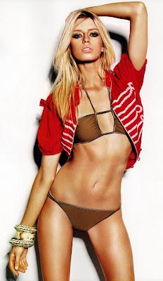 Milana Bogolepova in a bikini