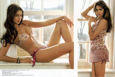 Fabulous Irina Sheik Lingerie Photos
