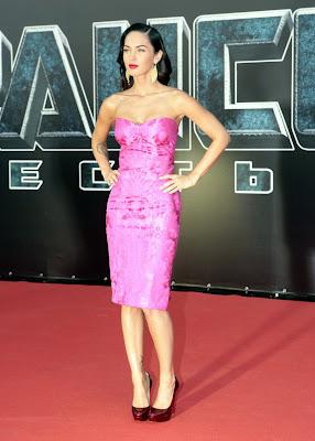 Megan Fox is pretty in pink