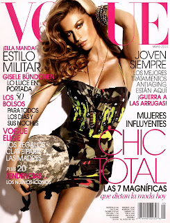 Gisele Bundchen is looking great in Latin Vogue