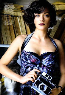 Inception Star Marion Cotillard in Vogue