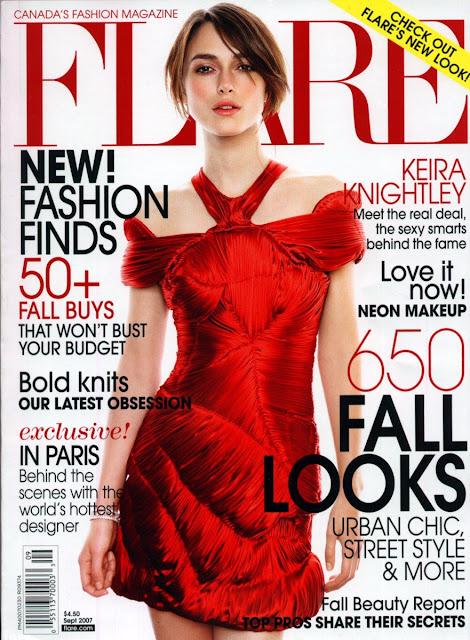 Kiera Knightley in Flare