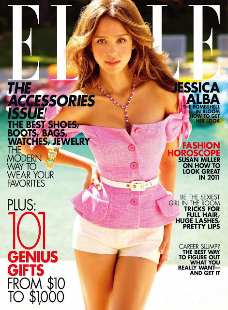 Jessica Alba is sexy in Elle