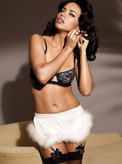 Great Adriana Lima in lingerie pics