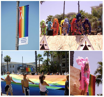 Over the weekend the sun shinned on Long Beach for the 25th annual Gay and ...