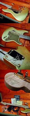 Mark Kendrick Masterbuilt Gold Leaf Clapton Stratocaster