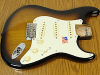 eric johnson strat body loaded